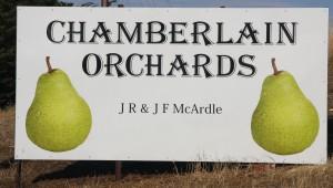 orchard signage
