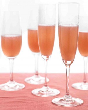 Pear and Cranberry Bellini