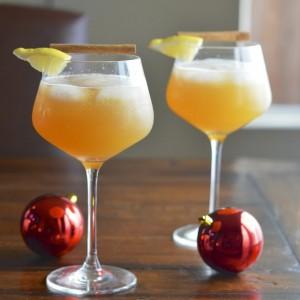 Apple Cinnamon Cocktail 2